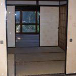 玄関から見た和室(玄関)